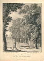 VUES DES TUILERIES (cover title). by TROLL (Johann Heinrich).