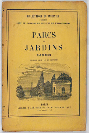 PARCS ET JARDINS. by DE CÉRIS, A.