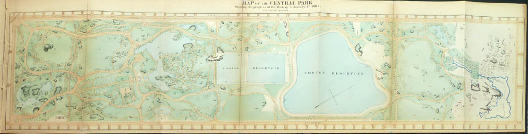 SEVENTH ANNUAL REPORT OF THE BOARD OF COMMISSIONERS OF THE CENTRAL PARK, FOR THE YEAR ENDING WITH DECEMBER 31, 1863. by (Parks - New York, Central Park) BOARD OF COMMISSIONERS OF THE CENTRAL PARK.