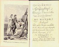 GALERIE GÉOGRAPHIQUE HISTORIQUE ET INTÉRESSANTE DES QUATRE PARTIES DU MONDE.. by N(ougaret)., P(ierre).J(ean).B(aptiste).