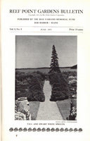 REEF POINT GARDENS BULLETIN. by (FARRAND, Beatrix)