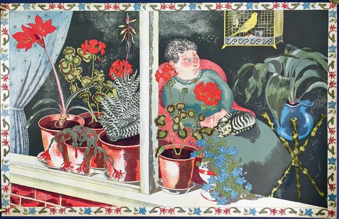 WINDOW PLANTS. by (Gardens in Art) NASH, John.