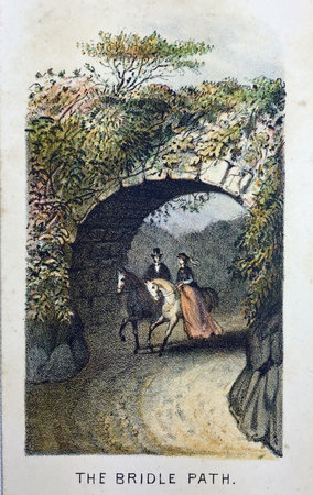 (VIEWS IN CENTRAL PARK) by (Central Park) (Prang, Louis, chromolithographer)