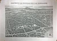SOUVENIR DU NOUVEAU BOIS DE BOULOGNE.  by (Bois de Boulogne) (GUESNU).