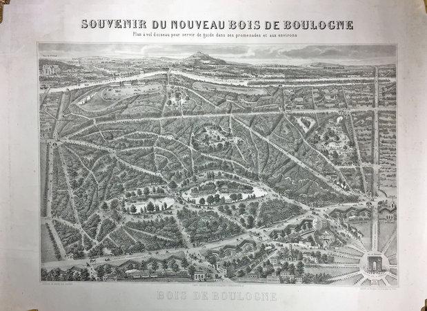 SOUVENIR DU NOUVEAU BOIS DE BOULOGNE. by (GUESNU).