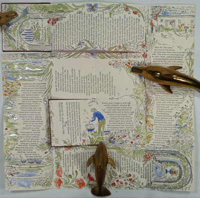 A SUMMER GARDEN. by (Miniature Book) LAWSON-HALL, Claire.