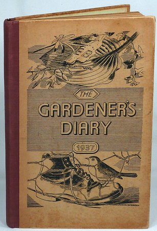 THE GARDENER'S DIARY FOR 1937 by (Cobbett, WILLIAM) Bawden, Edward.