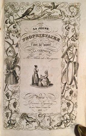 LA JEUNE PROPRIÉTAIRE by (Women and The Land) SAVIGNAC, Alida de