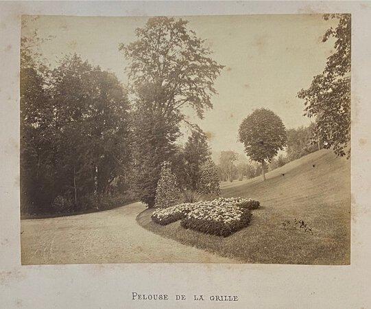 VUES DU CHATEAU ET DU PARC DE BRIMBORION A SEVRES (Seine & Oise) by (Parks - France) (GILON, photographer)