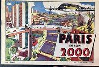 PARIS EN L'AN 2000. by (City Planning - Futuristic - Paris)