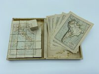 MAP PUZZLE. by (PARAVIA, G.B.)